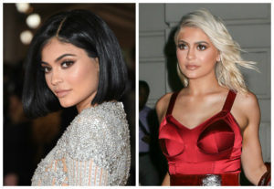 Cambio look Kylie Jenner