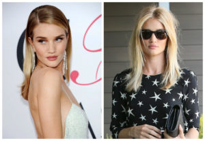 Cambio look ROsie Huntington