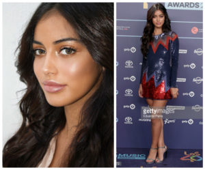 Cindy Kimberly los 40 music awards