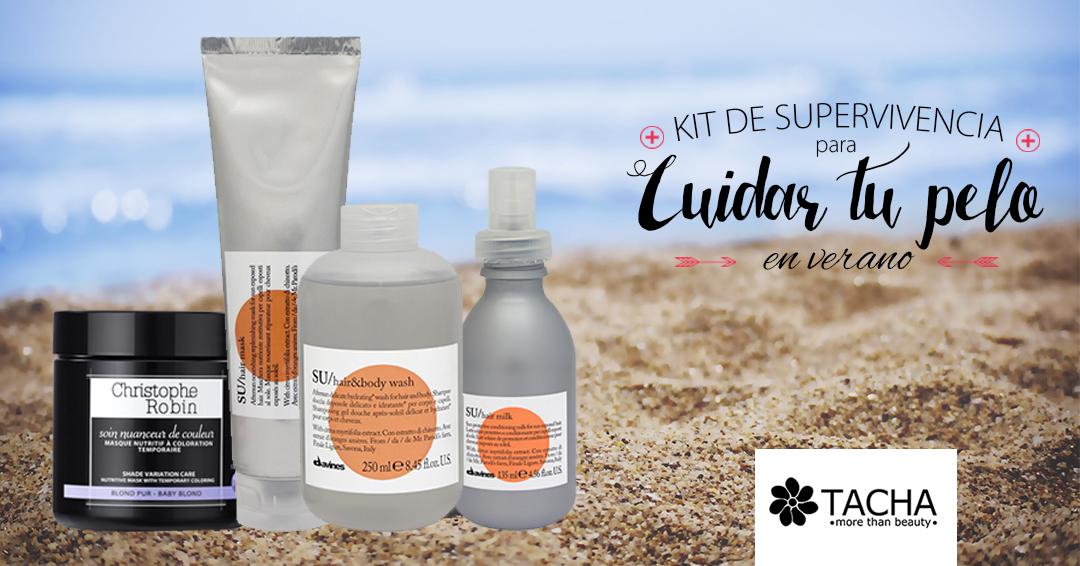 Kit de supervivencia para cuidar el cabello en verano