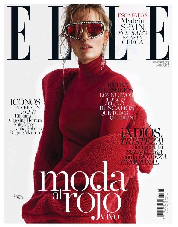 Elle - Moda al rojo vivo